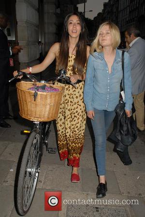 Oona Chaplin - Yahoo! Wireless Festival pre-party at The May Fair Hotel - London, United Kingdom - Thursday 20th June...
