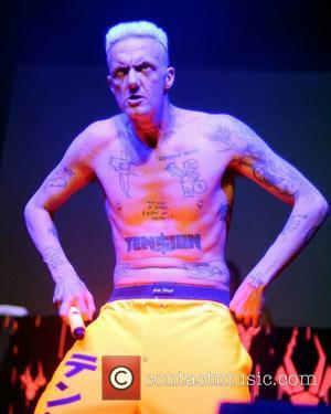 Ninja Jones - South African rap-rave group Die Antwoord perform at The Olympia - Dublin, Ireland - Thursday 20th June...