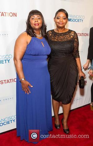 Wanda Johnson and Octavia Spencer
