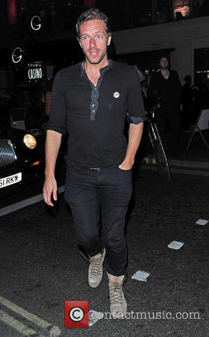 Chris Martin - The Hoping Foundation's 'Rock On' summer party at Cafe de Paris - London, United Kingdom - Thursday...