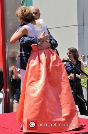 Pitbull and Jennifer Lopez - Jennifer Lopez is honoured with the 2,500th star on the Hollywood Walk of Fame -...