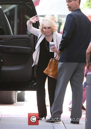 Joan Rivers - Joan Rivers arrives at the W Hotel - Los Angeles, CA, United States - Thursday 20th June...