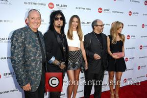 Alfred Schopf, Nikki Sixx, Courtney Bingham, Dr. Andreas Kaufmann and Guest