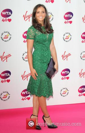 Laura Robson - Pre-Wimbledon Party held at Kensington Roof Gardens - London, United Kingdom - Thursday 20th June 2013