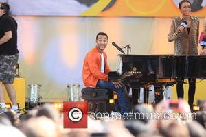John Legend - GMA Concert Series Present John Legend at Rumsey Playfield Central Park - NYC, NY, United States -...