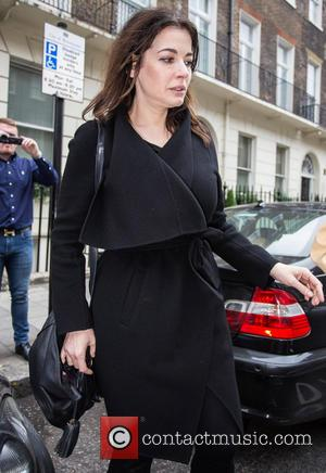 Nigella Lawson - Nigella Lawson leaving a private residence with...
