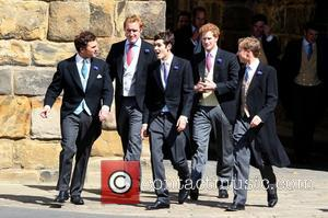 Thomas Van Straubenzee, Prince Harry and Guy Pelly