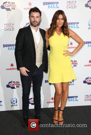 Dave Berry and Lisa Snowdon - Capital FM Summertime Ball 2014 held at Wembley Arena - Arrivals - London, United...