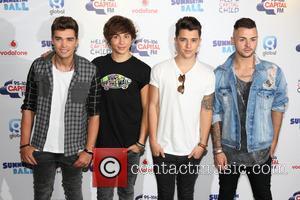 Union J, Josh Cuthbert, George Shelley, Jaymi Hensley and JJ Hamblett - Capital FM Summertime Ball 2014 held at Wembley...