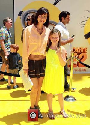 Catherine Bell and Gemma Beason - Premiere of Universal Pictures' 'Despicable Me 2' at the Gibson Amphitheatre - Universal City,...
