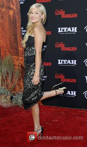 Olivia Holt - The World Premiere of Disney/Jerry Bruckheimer Films' 'The Lone Ranger' at Disney California Adventure Park - Arrivals...
