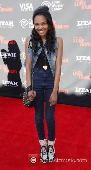 China Anne McClain - The World Premiere of Disney/Jerry Bruckheimer Films' 'The Lone Ranger' at Disney California Adventure Park -...
