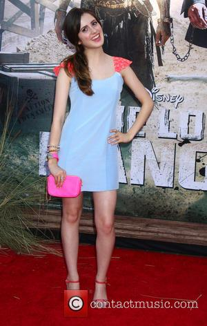 Laura Marano - The World Premiere of Disney/Jerry Bruckheimer Films' 'The Lone Ranger' at Disney California Adventure Park - Arrivals...