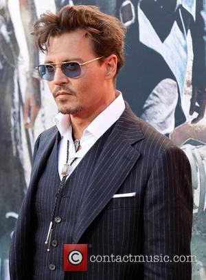 Johnny Depp, Lone Ranger Premiere