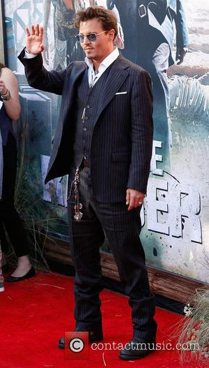 Johnny Depp - The World Premiere of 'The Lone Ranger'