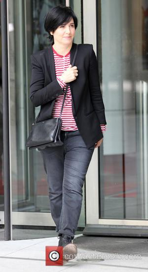 Sharleen Spiteri - Guests on 'The Andrew Marr Show' leave the BBC studios - London, United Kingdom - Sunday 23rd...