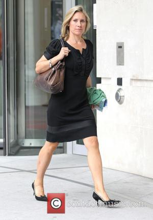 Sophie Raworth - Celebrities outside the BBC studios - London, United Kingdom - Sunday 23rd June 2013