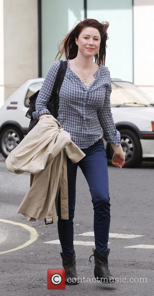 Hayley Westenra - Hayley Westenra arriving at the BBC Radio Two studios - London, United Kingdom - Sunday 23rd June...