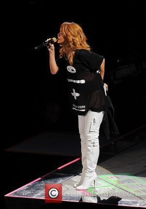 Rihanna - Rihanna performs live at the Ziggo Dome during the first of two sold out concerts as part of...
