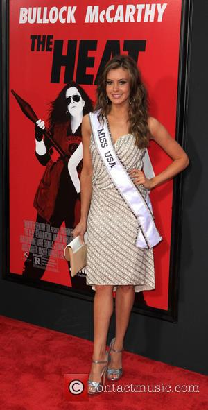 Erin Brady Miss USA - New York Premiere of
