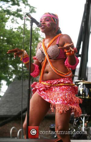 Femi Kuti and Dancer