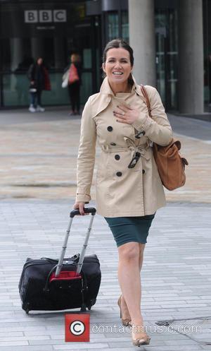 Susanna Reid - Celebrities leave BBC Breakfast at Media City - Manchester, United Kingdom - Monday 24th June 2013
