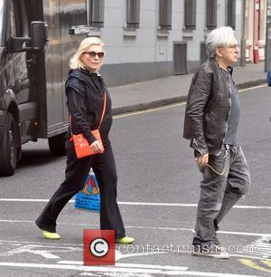 Chris Stein, Debbie Harry and Blondie - Debbie Harry aka Blondie spotted shopping in Temple Bar at vintage clothes store...