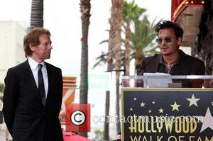 Jerry Bruckheimer and Johnny Depp