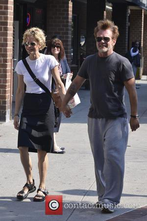 John Mellencamp and Meg Ryan