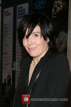 Sharleen Spiteri - Sharleen Spiteri the Soho Theatre after watching Russell Brand on his 'A Night Of Spontaneous Comedy' -...