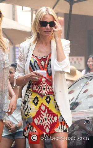 Cameron Diaz - The Other Woman Filmset