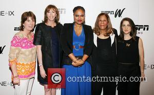 Carol Stiff, Jane Rosenthal, Ava Duvernay, Vivian Stringer and Bess Kargman