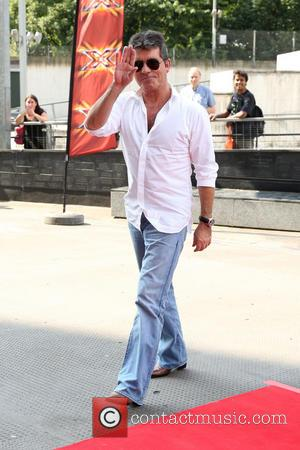 Simon Cowell - The X Factor London auditions held at the Emirates stadium - Arrivals - London, United Kingdom -...