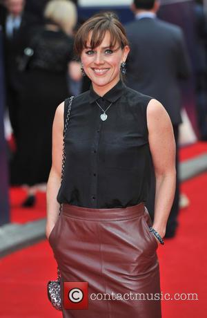 Jill Halfpenny - Charlie and the Chocolate Factory - press night held at the Theatre Royal - Arrivals.