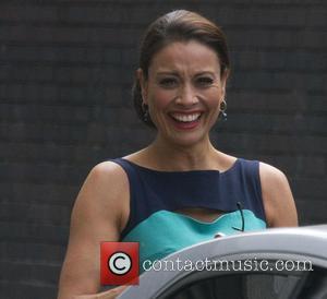 Melanie Sykes - Celebrities outside the ITV Studios - London, United Kingdom - Tuesday 25th June 2013