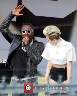 Miley Cyrus and Will.i.am