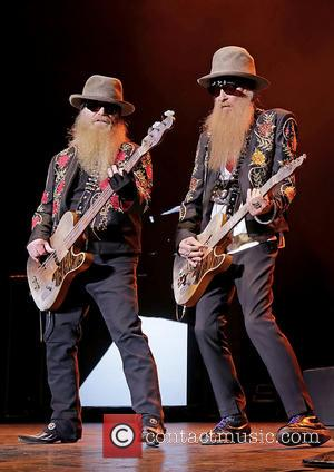 Billy Gibbons and Dusty Hill - ZZ Top performing in concert at the Manchester O2 Apollo - Manchester, United Kingdom...