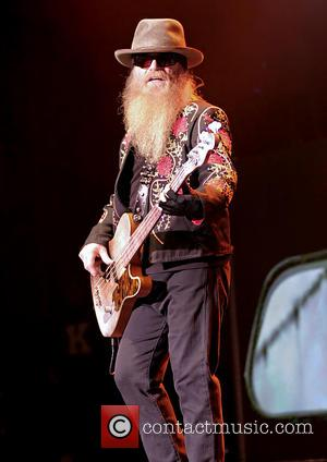 Dusty Hill - ZZ Top performing in concert at the Manchester O2 Apollo - Manchester, United Kingdom - Tuesday 25th...