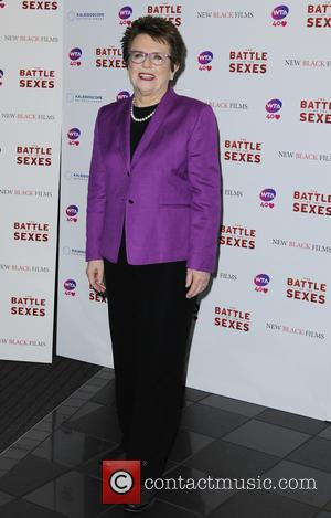 Billie Jean King - 'Battle Of the Sexes' U.K. premiere held at Leicester Square - Arrivals - London, United Kingdom...