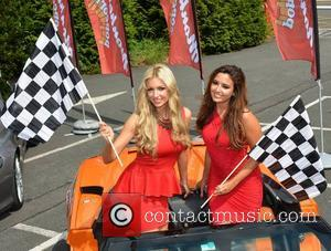 Rosanna Davison and Nadia Forde - Cannonball 2013 Launch sponsored by Manhattan Popcorn (23rd-25th of August) at RTE, Dublin -...