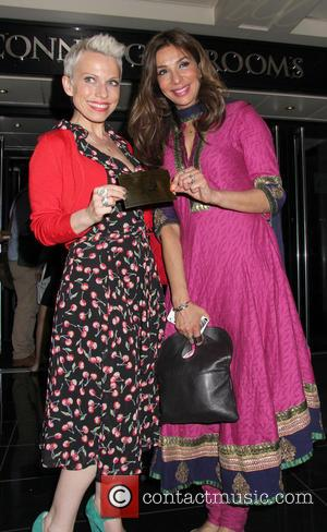 Shobna Gulati - Charlie and the Chocolate Factory -  After Party held at Great Connaught Rooms - London, West,...