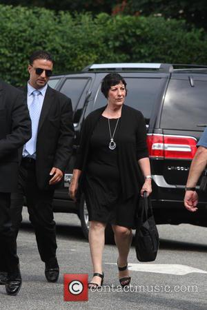 Leta Gandolfini - Leta Gandolfini pays her respect to her beloved brother James Gandolfini at the Robert Spearing Funeral Home...