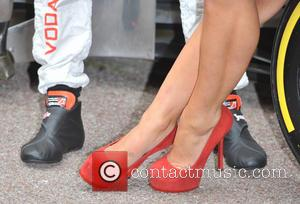 Jenson Button and Myleene Klass