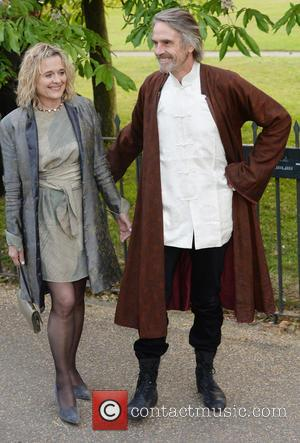 Jeremy Irons and Sinead Cusack - The Serpentine Gallery Summer Party held at Kensington Gardens - Arrivals - London, United...