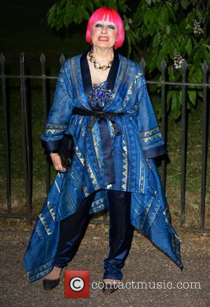Zandra Rhodes - The Serpentine Gallery Summer Party at Serpentine Gallery - London, United Kingdom - Wednesday 26th June 2013