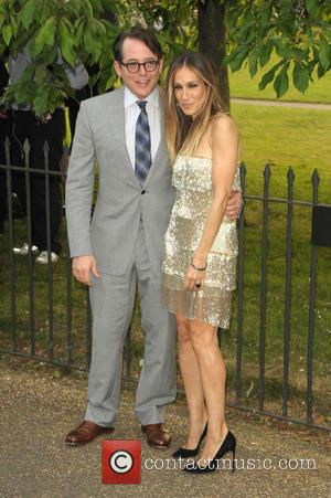 Matthew Broderick and Sarah Jessica Parker - The Serpentine Gallery Summer Party held at Kensington Gardens - Arrivals - London,...