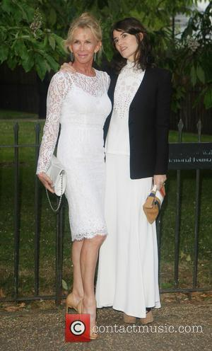 Trudie Styler and Bella Freud
