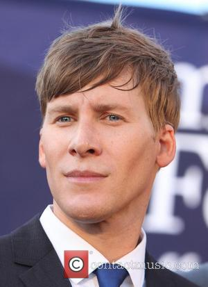 Dustin Lance Black - People attend a rally in West Hollywood to celebrate the U.S. Supreme Court's ruling that essentially...