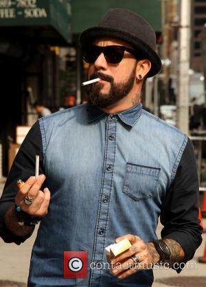 AJ McLean and Backstreet Boys - Celebrities outside the Ed Sullivan Theater for 'The Late Show with David Letterman' -...