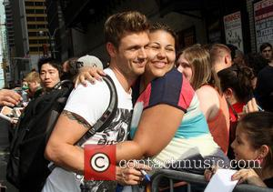 Nick Carter and Backstreet Boys - Celebrities outside the Ed Sullivan Theater for 'The Late Show with David Letterman' -...